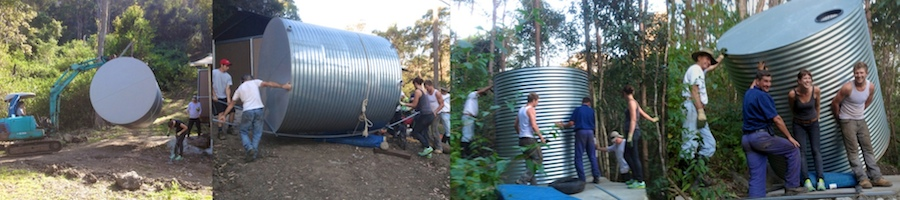 building-Nightfall-camp-gold-coast-hinterland-luxury-camping-experience